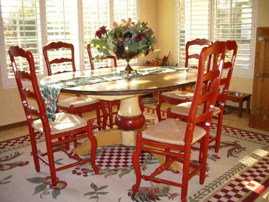 The surprising pic is part of kitchen table and chairs report which is