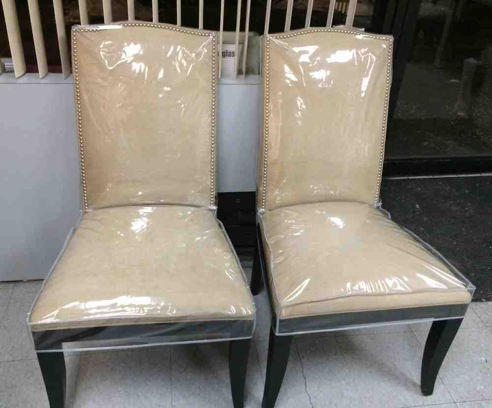 Plastic dining room chair covers decor ideasdecor ideas - Plastic covers for dining room chairs ...