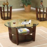 Round Coffee And End Table Sets