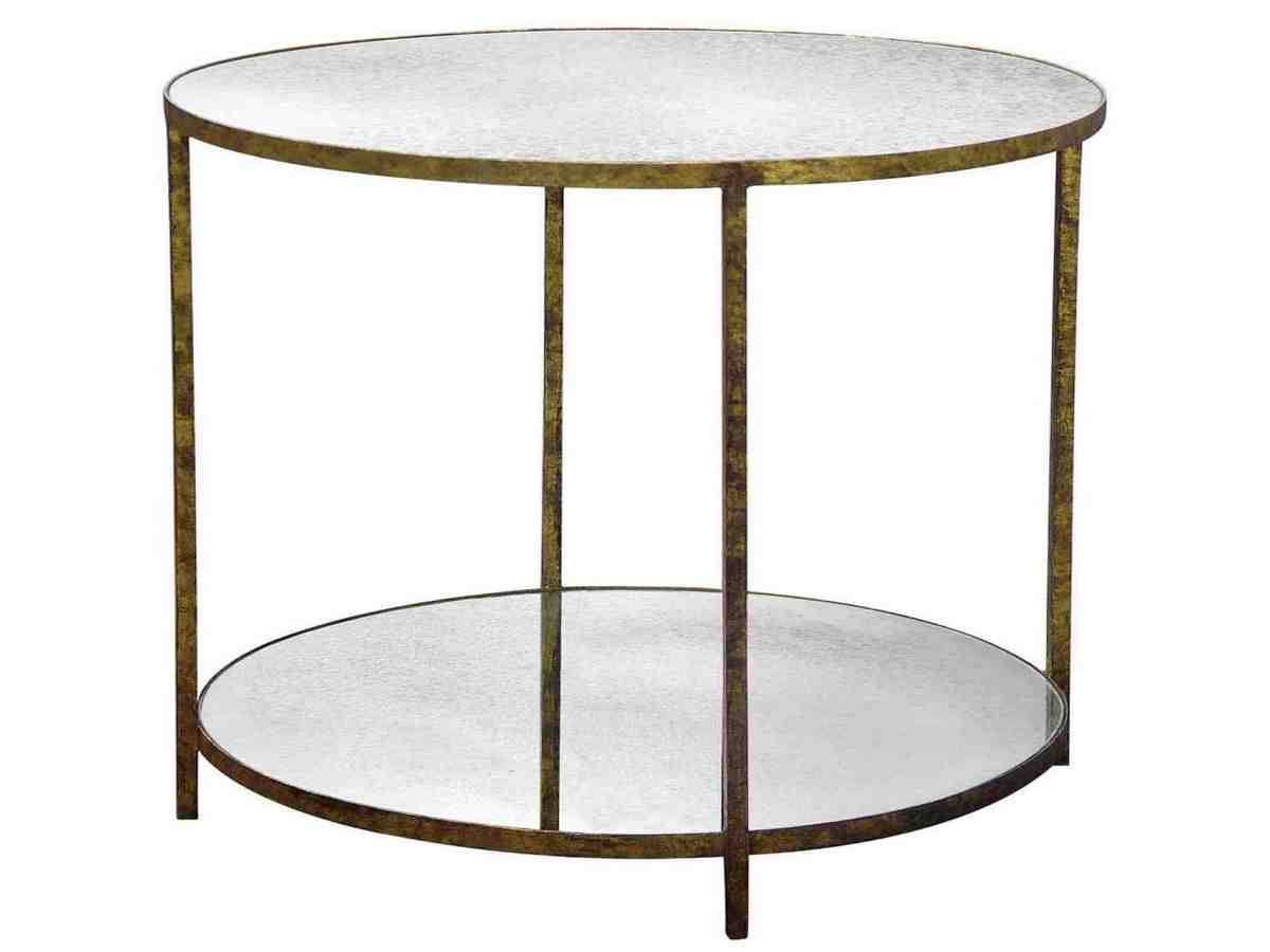 Round glass top end table decor ideasdecor ideas Round glass table top