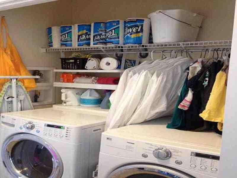 Rubbermaid Laundry Room Storage