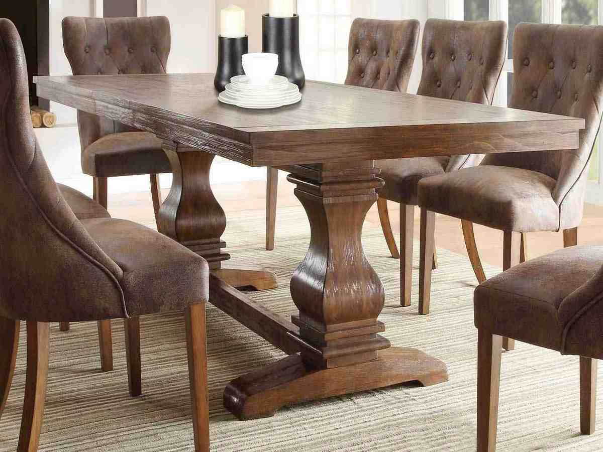 rustic leather dining chairs decor ideasdecor ideas