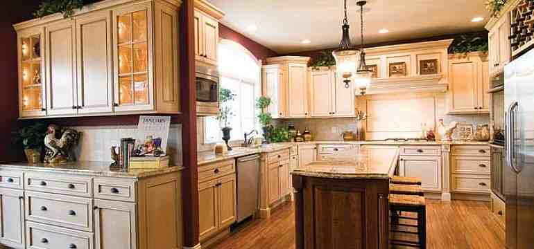 Kitchen decor ideasdecor ideas for Semi custom cabinets