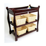 Badger Basket Baby Changing Table