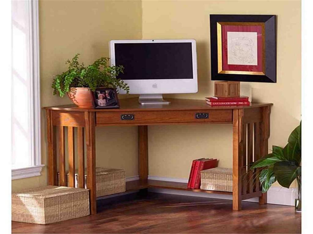 Compact Corner Computer Desk