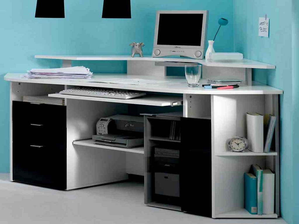 Best computer desks for small spaces home office desk for Best home office computer 2015