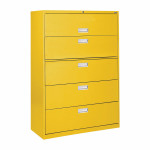 Hon 5 Drawer File Cabinet