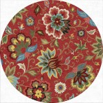 Large Round Area Rugs