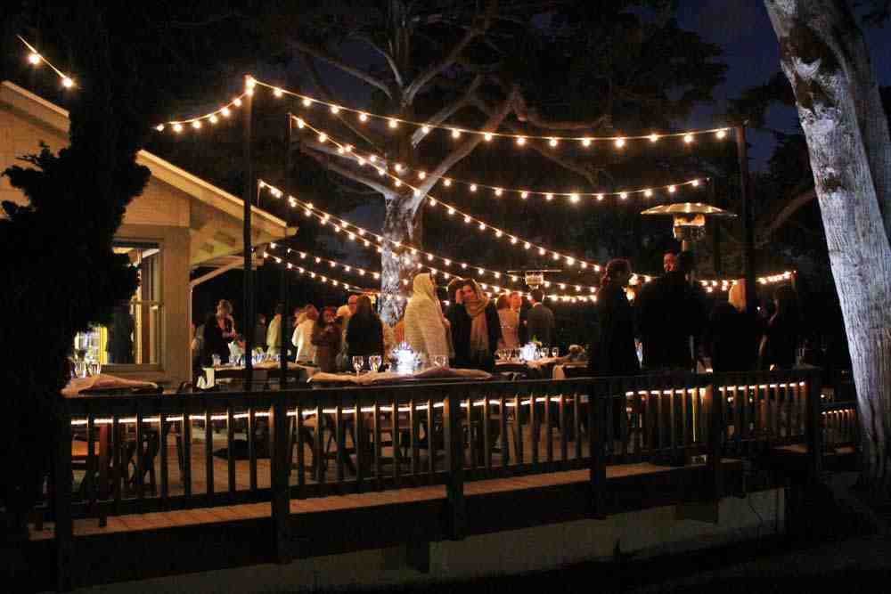 Outside String Garden Lights : Outdoor String Light Ideas images