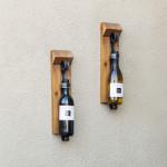 Rustic Wall Wine Rack