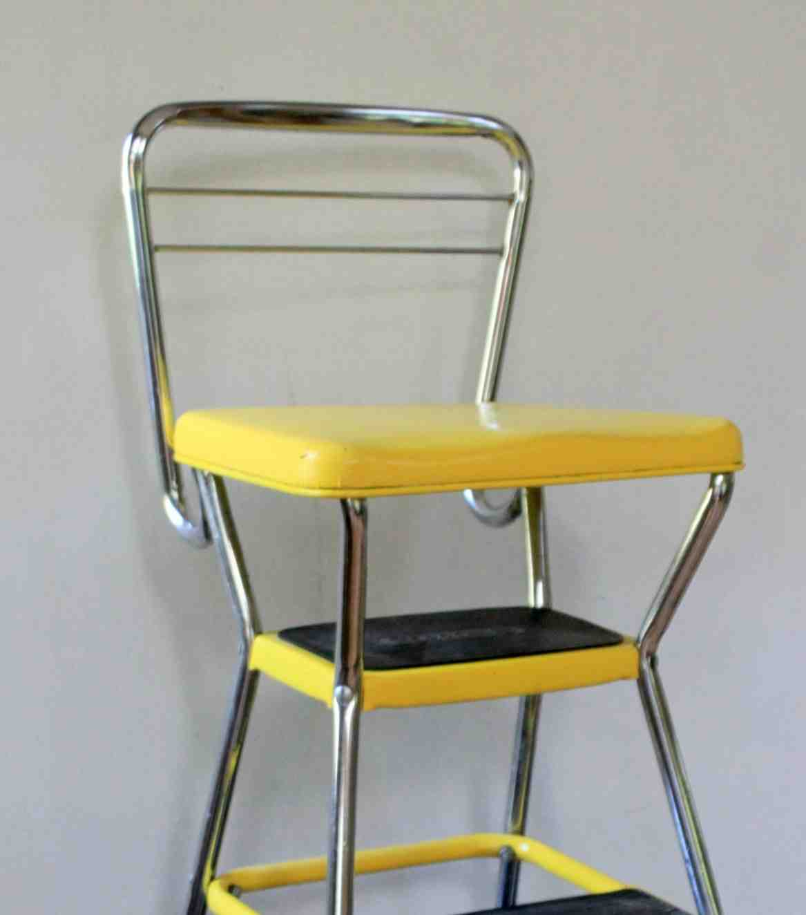 Vintage Cosco Step Stool Chair Decor Ideasdecor Ideas