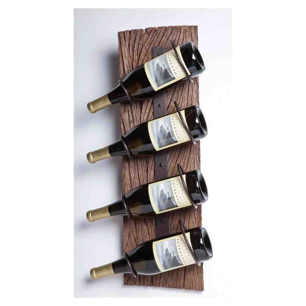 Decorative Wall Wine Glass Rack : Wall wine rack with glass holder decor ideasdecor ideas