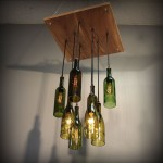 Wine Glass Rack Chandelier
