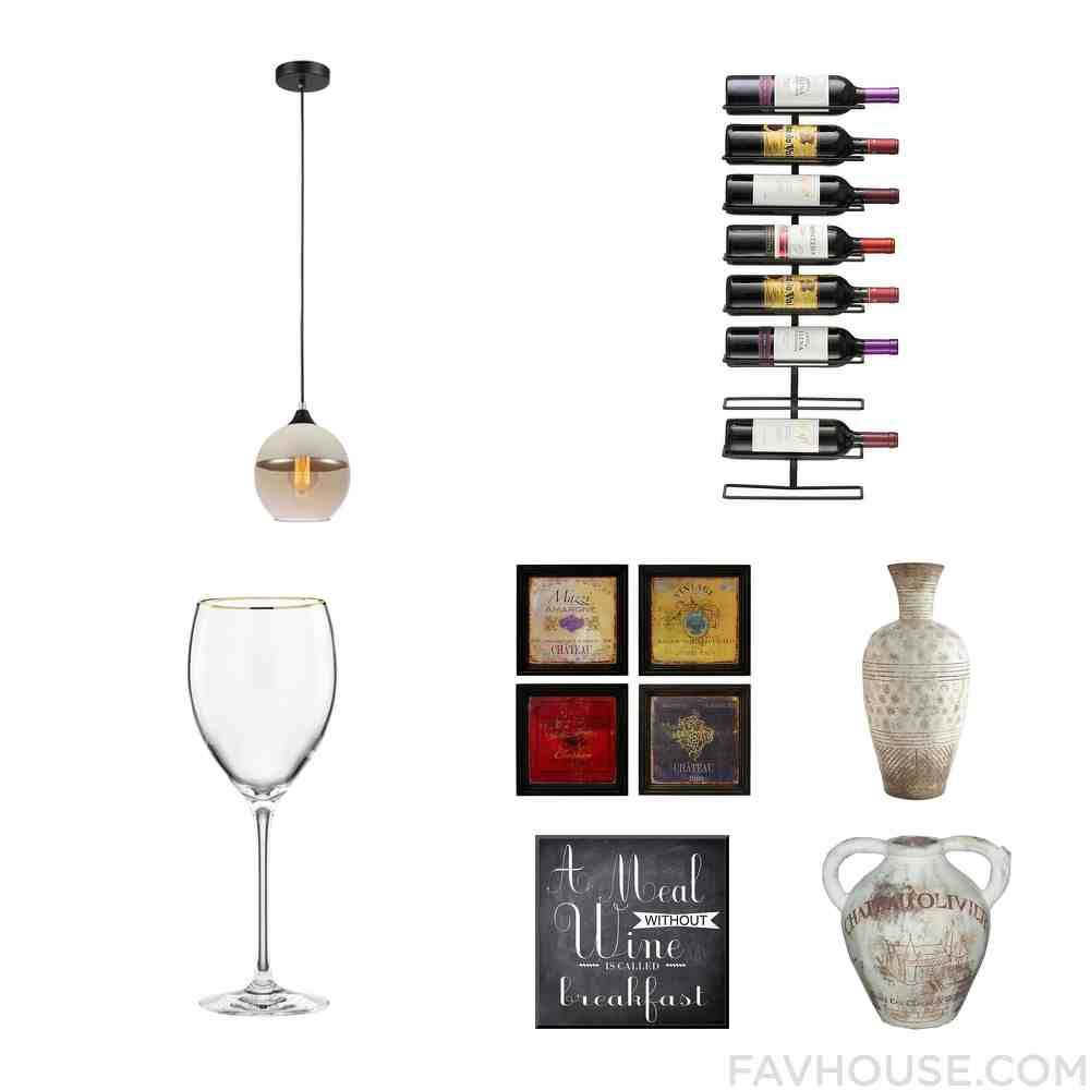 Wine Rack Wall Art
