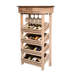 Wine Rack Wall Cabinet