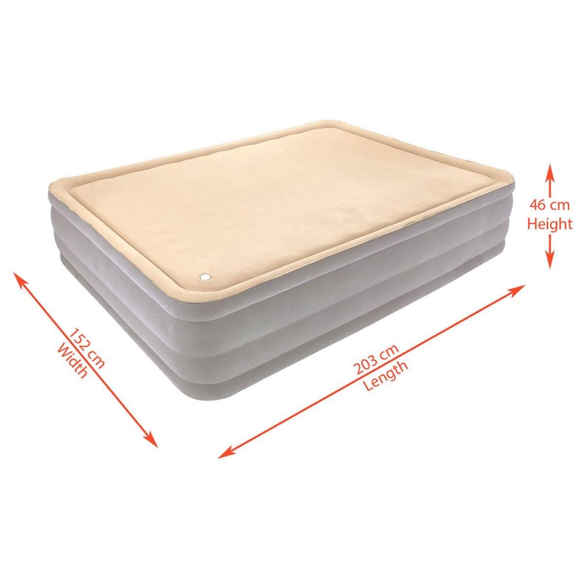 Air mattress sizes decor ideasdecor ideas for Air bed decoration