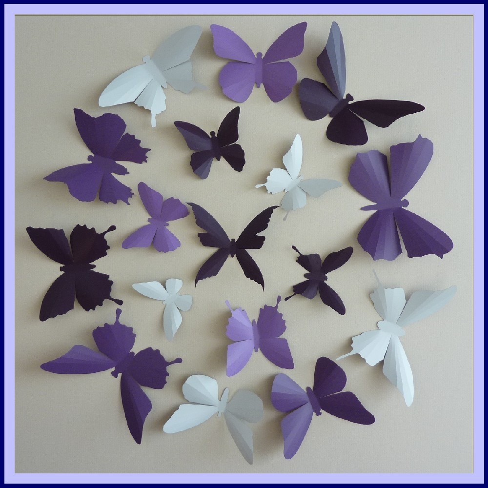 Butterfly Wall Decor For Nursery