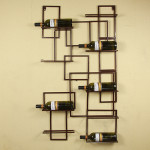 Decorative Metal Wall Shelf