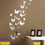 Mirror Butterfly Wall Decor