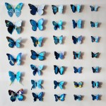 Nylon Butterfly Wall Decor