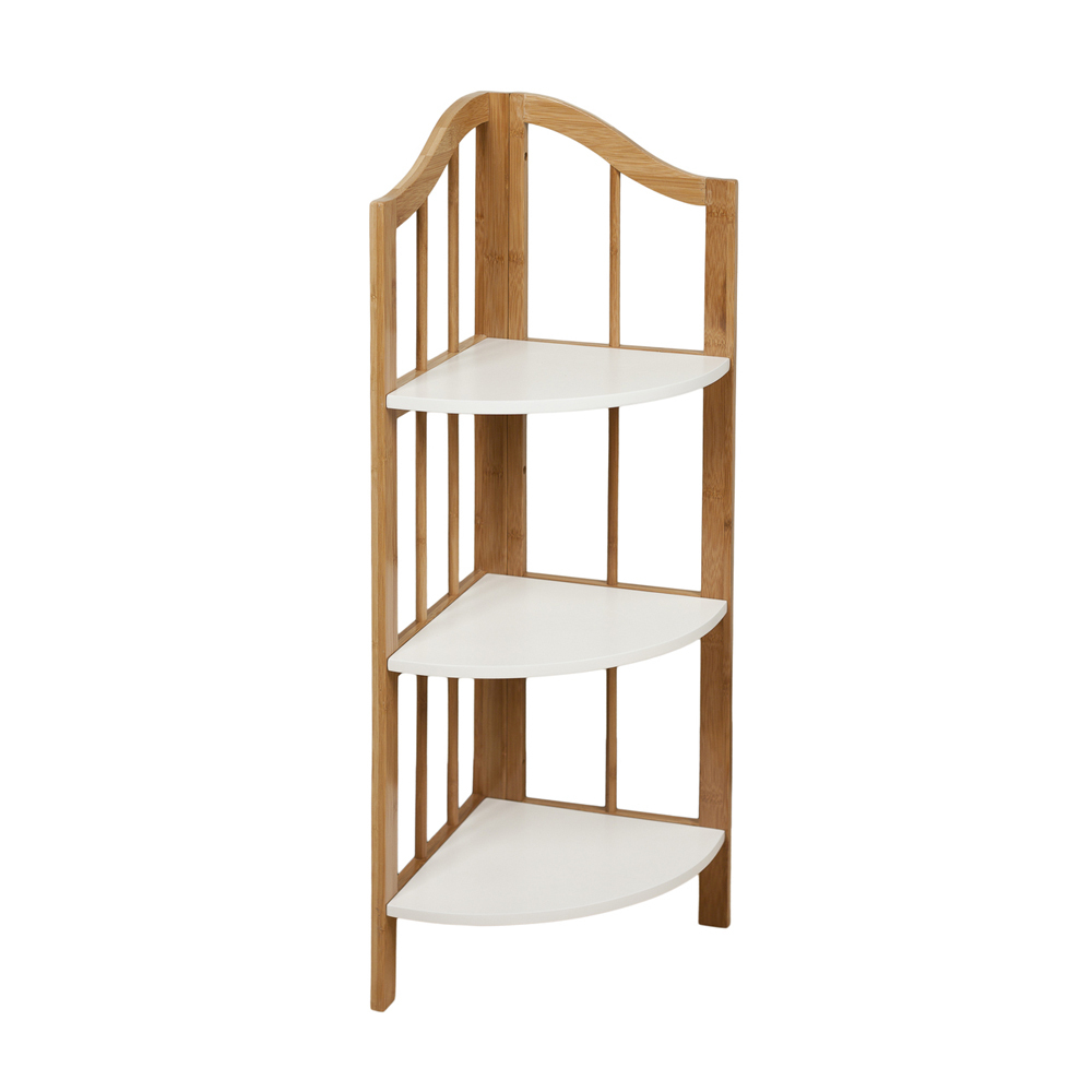 Corner Ladder Shelves