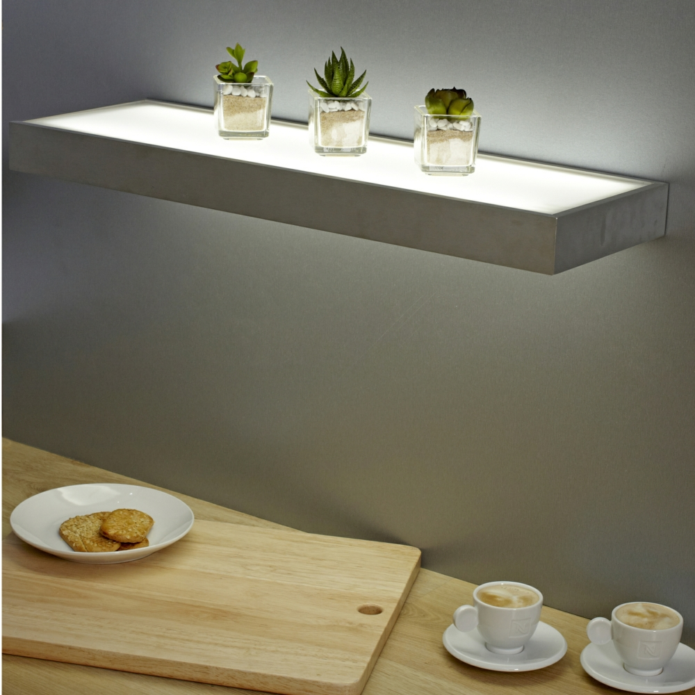 Floating Shelves With Lights Decor Ideasdecor Ideas