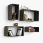 Floating Storage Shelves