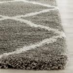 Grey Shag Area Rug
