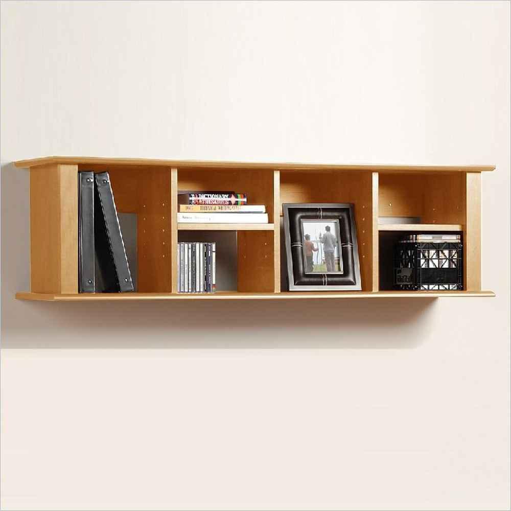 Natural Wood Wall Shelves