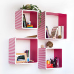 Square Floating Shelves