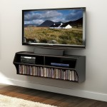 Tv Wall Mount With Shelves