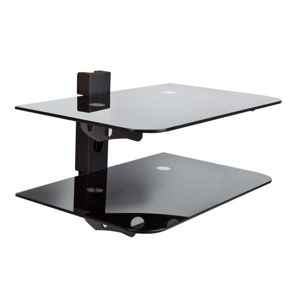 Wall mounted av component shelving system decor - Wall mounted shelving ideas ...