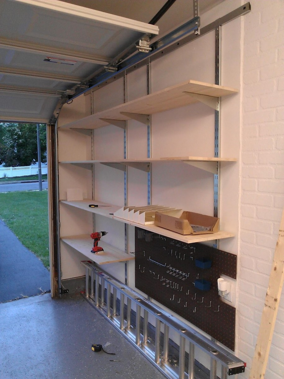 Wall Mounted Garage Shelving Decor Ideasdecor Ideas