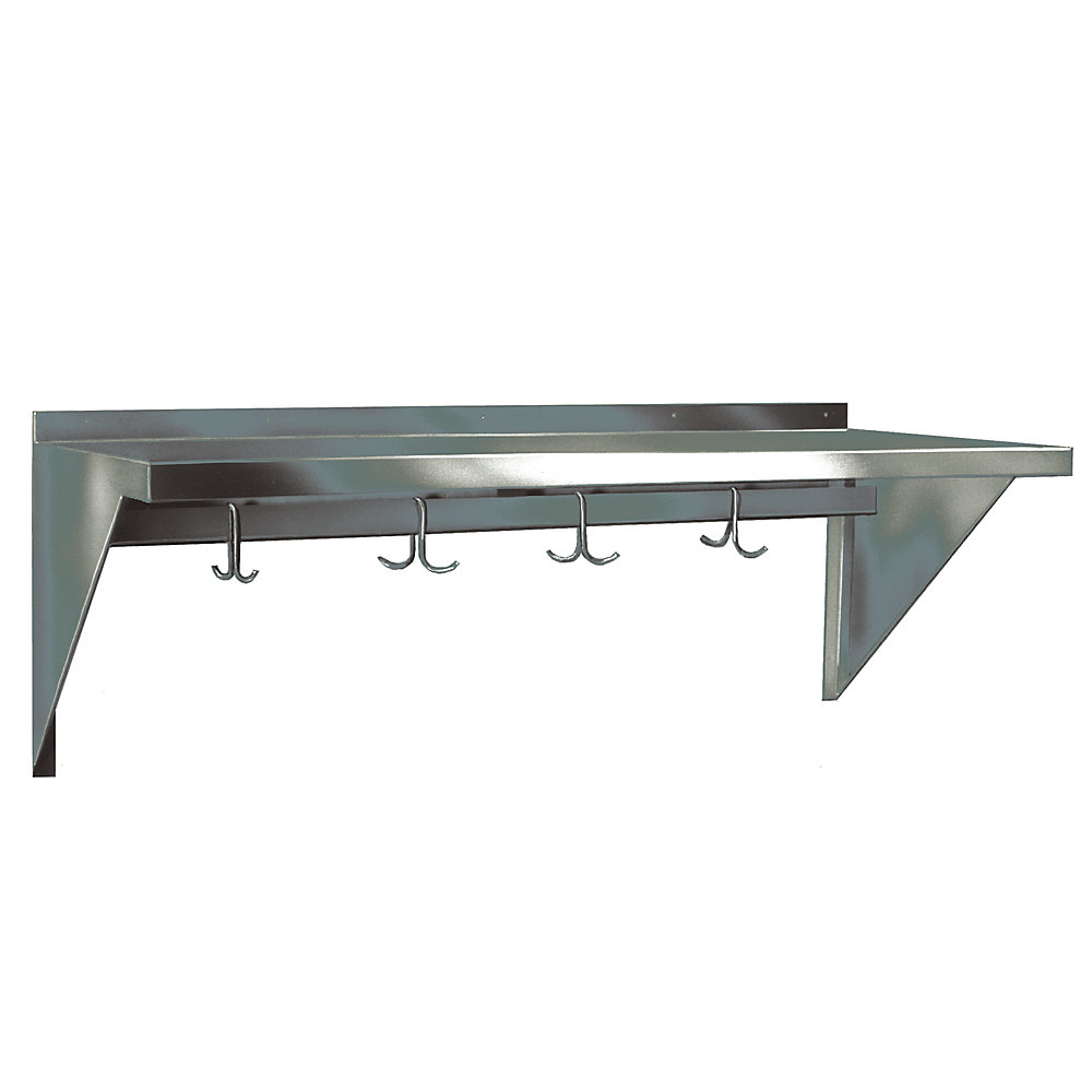 Wall Mounted Metal Shelving