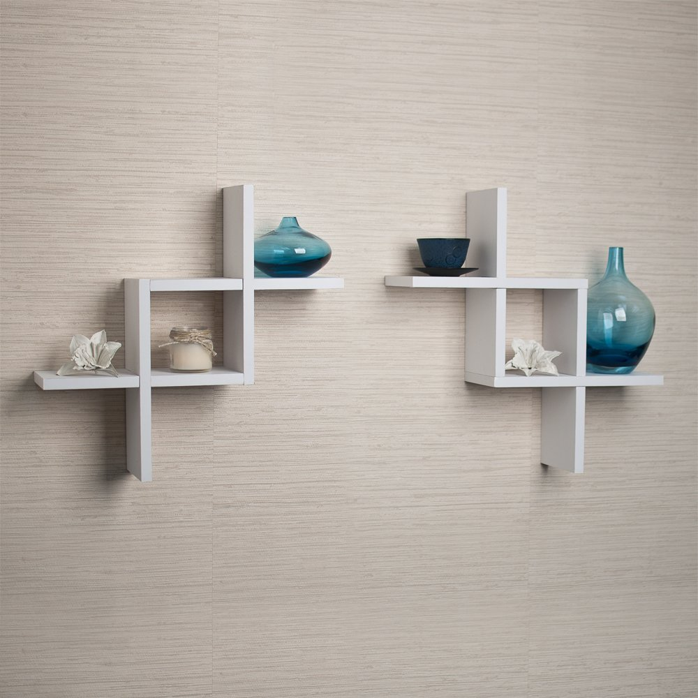 Wide Floating Shelves