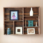 Wood Wall Shelving