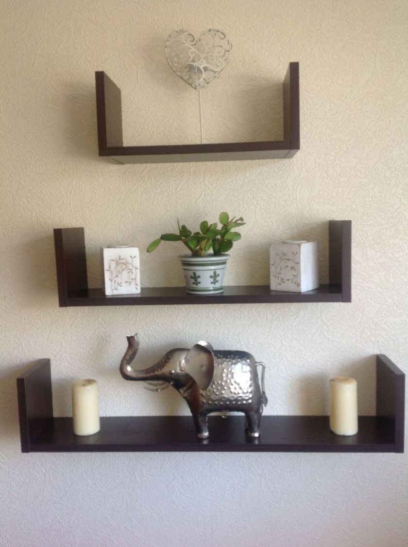 Wooden Wall Mounted Shelves Decor Ideasdecor Ideas