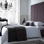 Black And White Chandelier Bedding