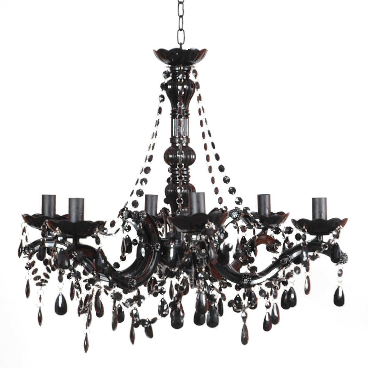 Black Chandelier – a Charming Way to Light Your World