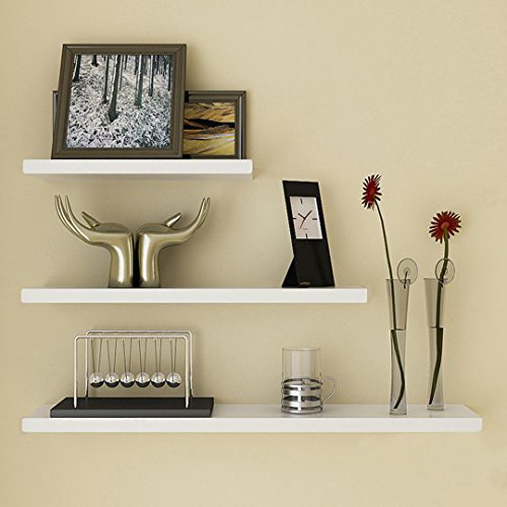 Decorative floating wall shelves decor ideasdecor ideas for Decoration shelf