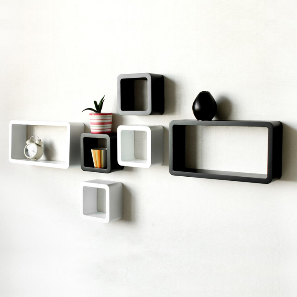 Decorative wall shelves easy to install and removable for Decoration shelf