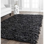 Large Black Area Rug