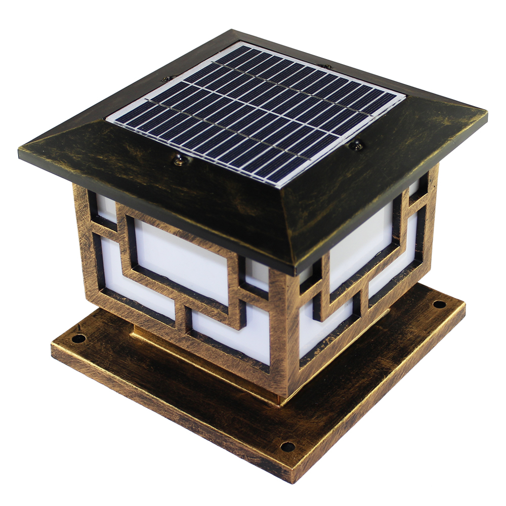Solar Pole Lights Outdoor