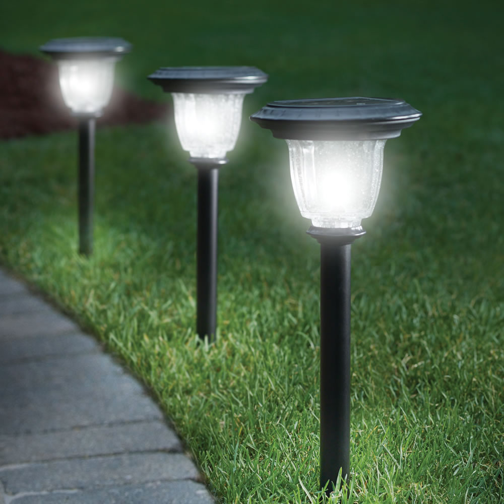 Solar Powered Outdoor Lighting
