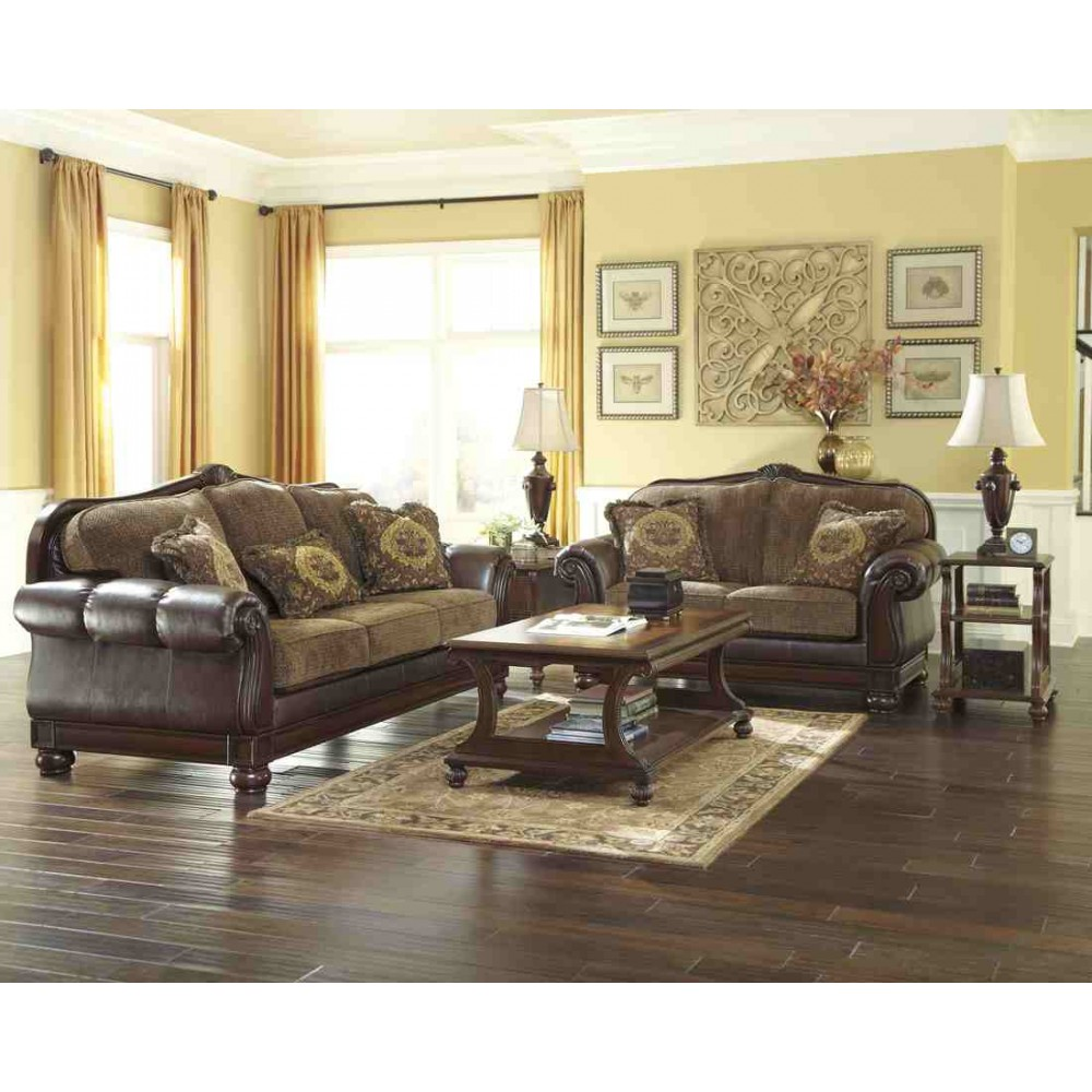 Ashley furniture living room sets prices decor ideasdecor ideas for Ashley leather living room furniture