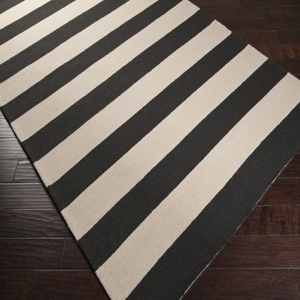 Black And White Rugs Stella Rug In Black And White By