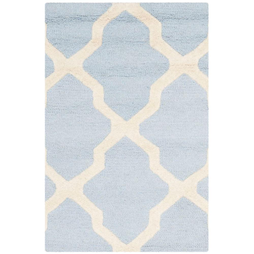 Moroccan Scroll Tile Light Blue Handmade Persian Style: Decor IdeasDecor Ideas