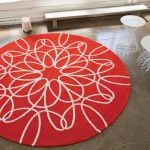 Red And White Area Rugs