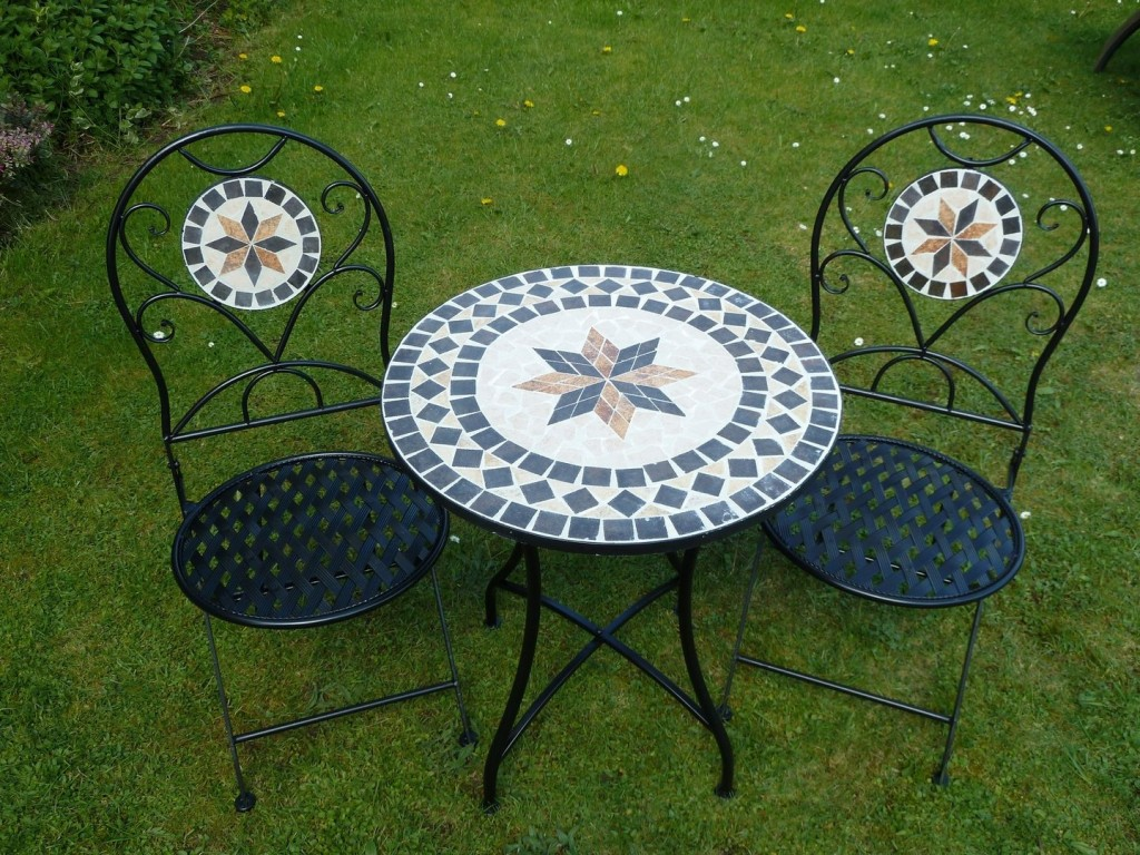 2 Chair Patio Set