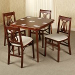 5 Piece Card Table And Chair Set